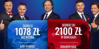 Etoto bonus powitalny. 2100 PLN na obstawianie!