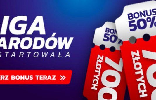 Bonus Etoto. 700 PLN na obstawianie Ligi Narodów!