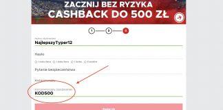 500 PLN od Betclic na początek! Powitalny cashback 100%