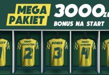 Bonus powitalny w Betfan to 3000 PLN! A na dodatek - 50 PLN ekstra!